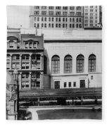 New York Curb Market, 1921 Fleece Blanket