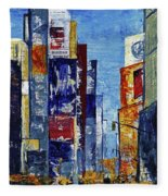 New York Dreams Fleece Blanket