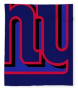 New York Giants Football Fleece Blanket