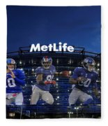 New York Giants Metlife Stadium Fleece Blanket