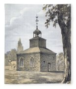 New York: Jamaica Church Fleece Blanket