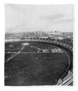 New York Motordrome, C1912 Fleece Blanket