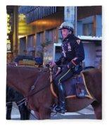 New York Police Department Fleece Blanket