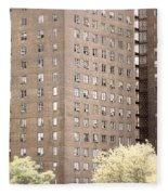 New York Public Housing Fleece Blanket
