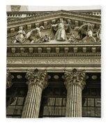 New York Stock Exchange Fleece Blanket