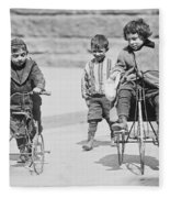 New York Street Kids - 1909 Fleece Blanket