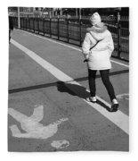 New York Street Photography 10 Fleece Blanket