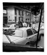 New York Street Photography 14 Fleece Blanket