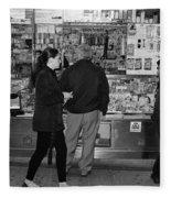 New York Street Photography 18 Fleece Blanket