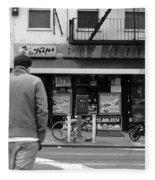 New York Street Photography 25 Fleece Blanket