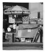 New York Street Photography 6 Fleece Blanket
