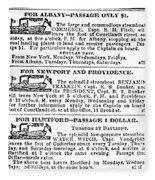 New York Sun, 1833 Fleece Blanket