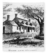 New York: Tavern, C1776 Fleece Blanket