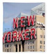 New Yorker Fleece Blanket