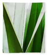 New Zealand Flax Simplified Fleece Blanket