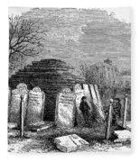 Newark Cemetery, 1876 Fleece Blanket