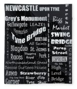 Newcastle Fleece Blanket