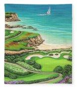 Newport Coast Fleece Blanket