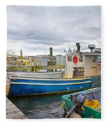 Newport Rhode Island Harbor IIi Fleece Blanket