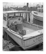 Newport Rhode Island Harbor Iv Fleece Blanket