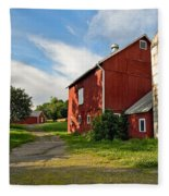 Newtown Barn Fleece Blanket