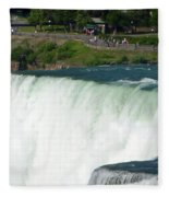 Niagara Falls 10 Fleece Blanket