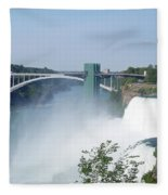 Niagara Falls 11 Fleece Blanket