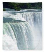 Niagara Falls 3 Fleece Blanket