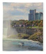 Niagara Falls 4039 Fleece Blanket