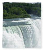 Niagara Falls 8 Fleece Blanket