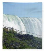 Niagara Falls 9 Fleece Blanket
