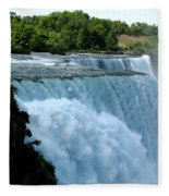 Niagara Falls American Side Fleece Blanket