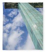 Niagara Falls Observation Tower Fleece Blanket