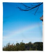 Niagara Landmarks Fleece Blanket