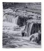 Niagara River Falls Fleece Blanket
