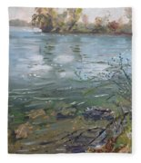Niagara River Spring 2013 Fleece Blanket