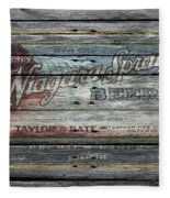 Niagara Spray Beer Fleece Blanket