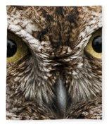 Nice Eyes Fleece Blanket