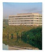 Nice Place To Work Fleece Blanket