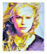 Nicole Kidman Fleece Blanket