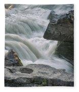 Nigel Creek Cascades Fleece Blanket
