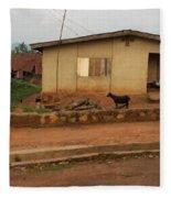 Nigerian House Fleece Blanket