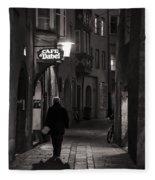 Night Appointment Fleece Blanket