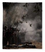 Night Battle Fleece Blanket