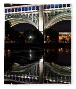 Night Bridge Fleece Blanket