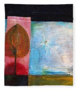 Night Comes Fleece Blanket