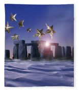 Night Cometh Fleece Blanket