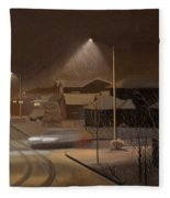 Night Drive Fleece Blanket