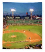 Night Fenway Pop Fleece Blanket
