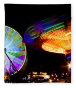 Night Lights Fleece Blanket